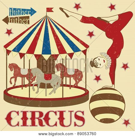 Pattern of the circus