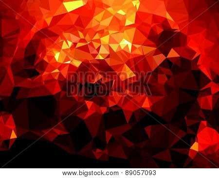 Background modern texture triangle geometry birth of a star
