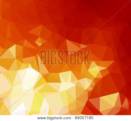 Background modern texture triangle geometry forest fire flames