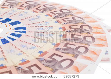 Fifty Euro Fan