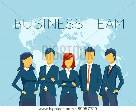 Business team, human resources