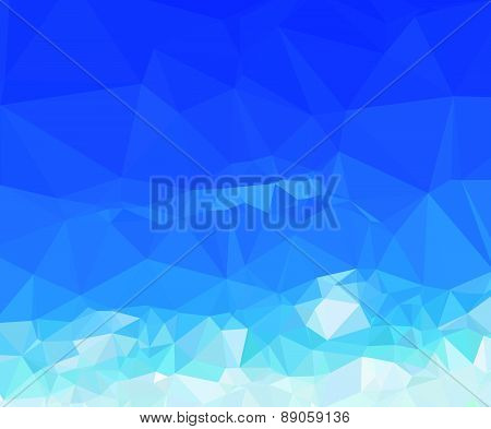 Background modern texture triangle geometry perfect summer sky