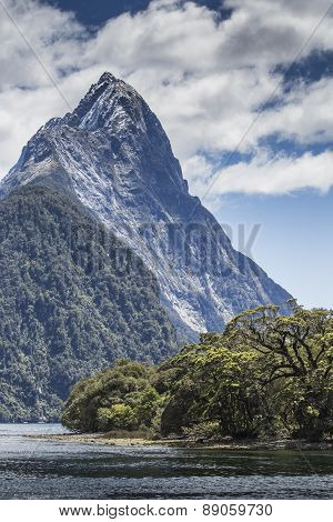 Milford Sound, Fiordland, New Zealand.