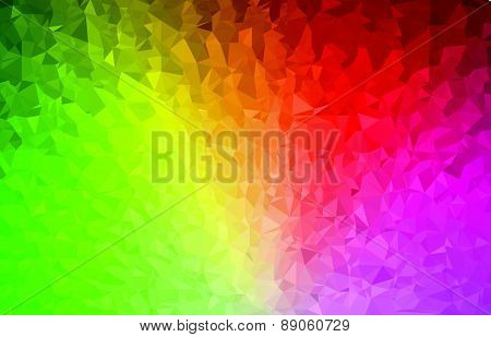 Background abstract triangle geometry pattern color spectrum