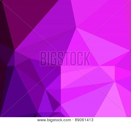 Background abstract triangle geometry pattern pink rock