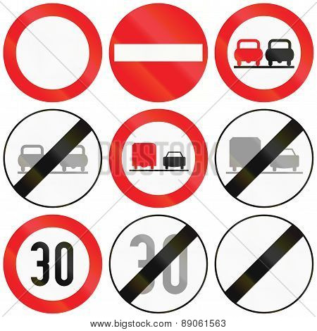 Restrictions In Austria