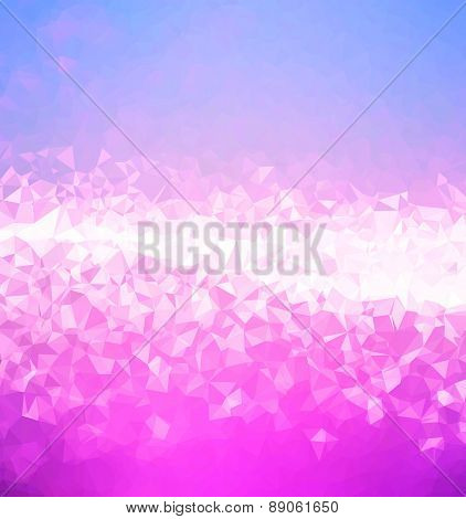 Background abstract triangle geometry pattern glassy cover backdrop