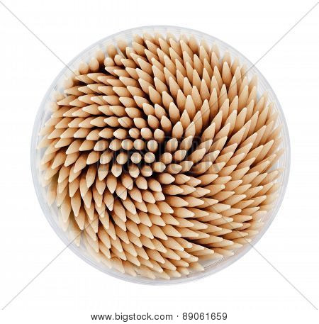 Toothpicks in a box