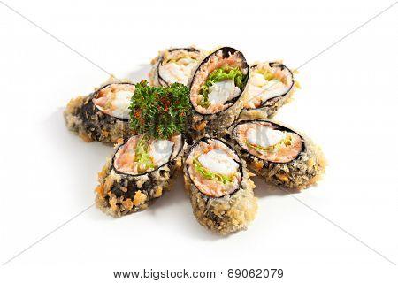 Tempura Maki Sushi - Deep Fried Roll