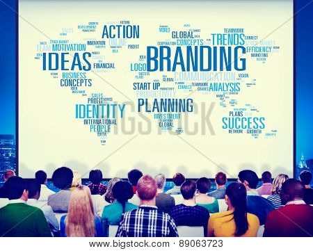 Branding Ideas Commercial Advertising Trademark Concept