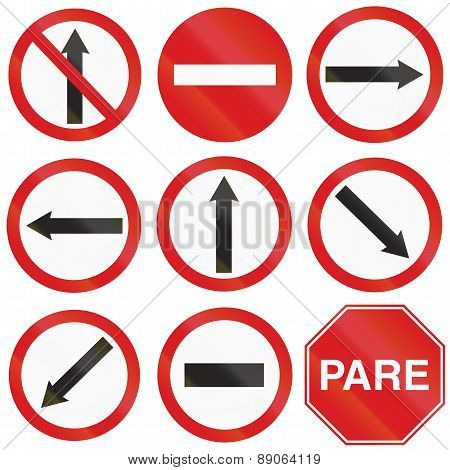 Arrow Signs In Argentina