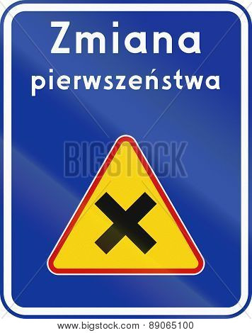 Change Priority In Poland