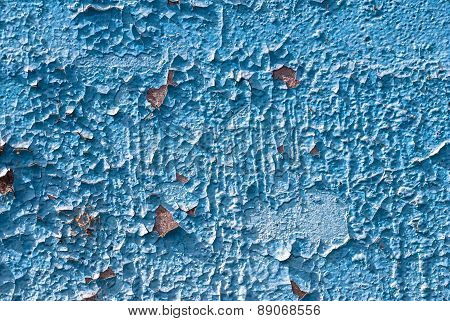 chipped paint on old concrete wall texture