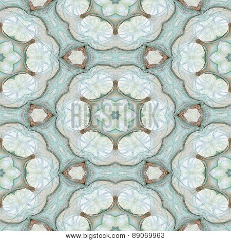 Seamless Kaleidoscope Texture Or Pattern In Pastel Colors 6