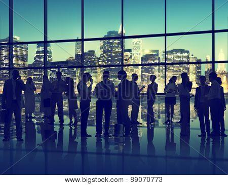 Cityscape Architecture Building Business Metropolis Team Concept