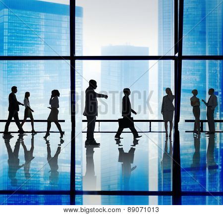 Business People Corporate Office Concept