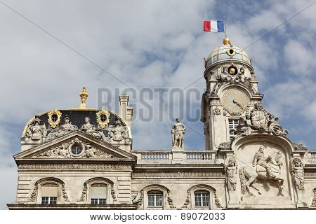 The city hall in Lyon, France