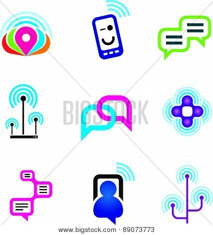 Social communication phone and internet network for world connectivity