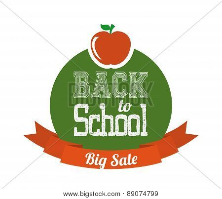 school design over   background vector illustration