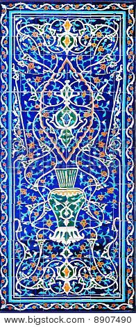 Traditional Ornament Of Ceramics At The Mosque