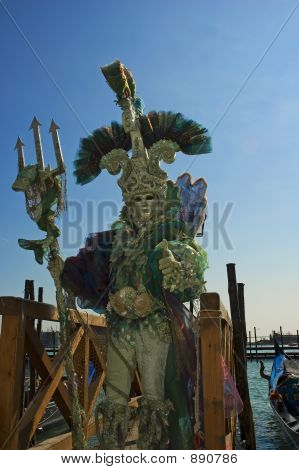King Neptune Of Venice