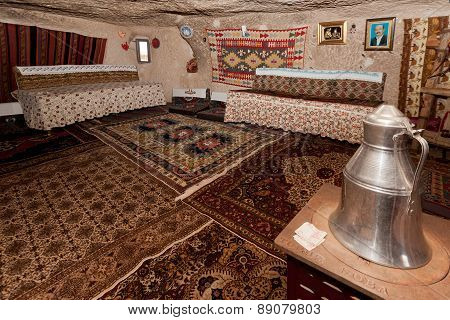 Interior Of Cappadocia Cave Home