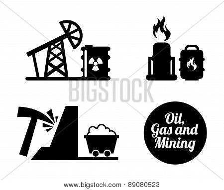 industry design over white background vector illustration