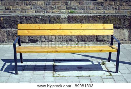 Bench In Street