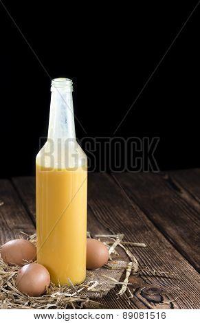 Fresh Made Egg Liqueur