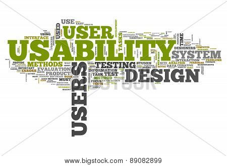 Word Cloud Usability