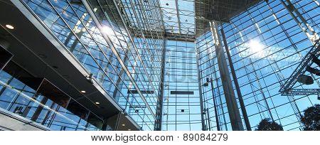 Modern architecture panorama
