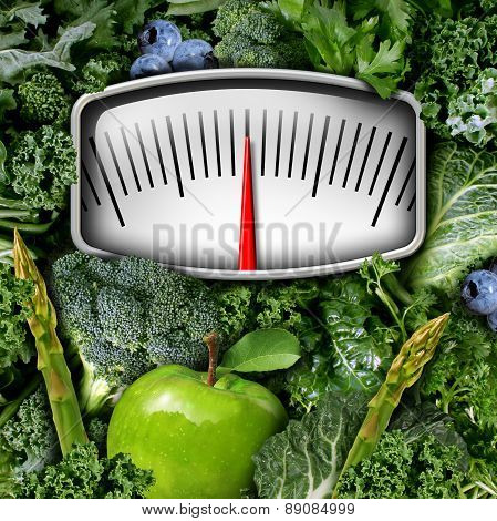 Fruits And Vegetables Scale