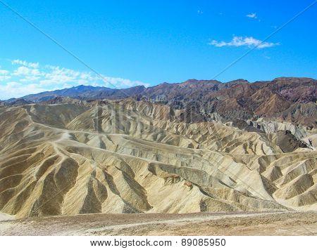 Zabriskie Point In Death Valley Np
