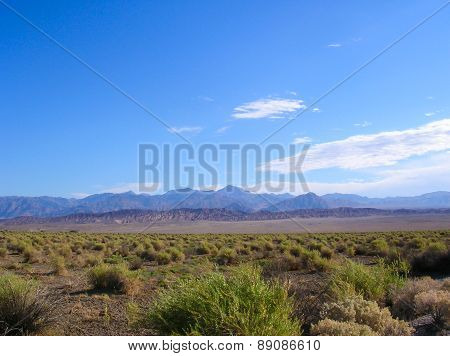 Death Valley, A Desert Land