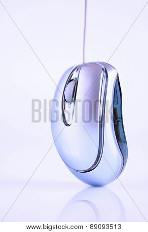 Close up of pc mouse