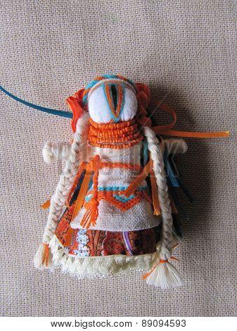 Ukrainian handmade folk doll