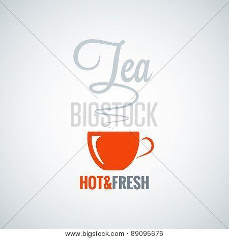 tea cup flavor background