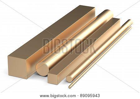Bronze Square Rods And Round Bars