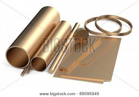Rolled Metal, Bronze Assortment