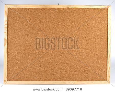 Cork board - close up