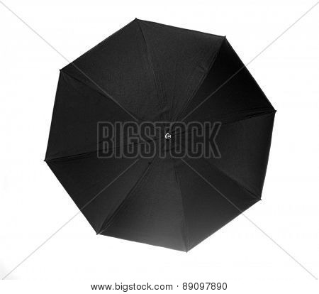 Studio shot of umbrella - close-up