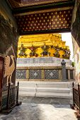 stock photo of emerald  - Temple of the Emerald Buddha or Grand palace - JPG