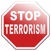 picture of terrorism  - no terrorism war on terror stop terrorist attacks - JPG