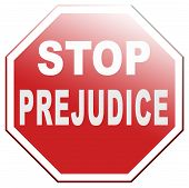 stock photo of racial discrimination  - no prejudice dont judge the unknown stop prejudgment - JPG