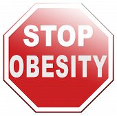 image of obese  - obesity prevention campaign with low fat diet for obese children and adults with eating disorder - JPG