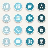 pic of internet icon  - Business web icons set - JPG
