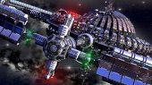pic of spaceships  - Alien spaceship - JPG