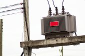 pic of transformer  - An transformer big place industry  soft light  - JPG