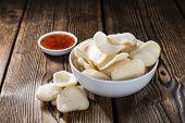 image of chinese crackers  - Prawn Crackers  - JPG