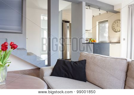 Beige Cozy Interior